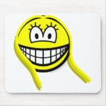 Virgo smile Zodiac sign  mousepad
