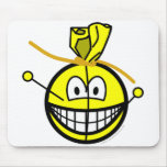 Voodoo doll smile   mousepad