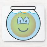 Fishbowl emoticon   mousepad