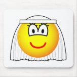 Bride emoticon   mousepad