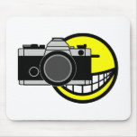 Photo graphing smile   mousepad