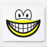 Half smile bottom  mousepad