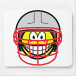 Football player smile   mousepad