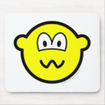 Nervous buddy icon   mousepad
