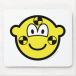 Crash test dummy buddy icon   mousepad