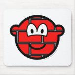 Stoned buddy icon   mousepad