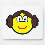 Leia Organa buddy icon   mousepad