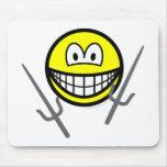 Sai smile martial arts  mousepad