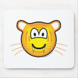 Tiger emoticon   mousepad