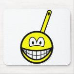 Frying pan smile   mousepad