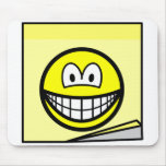 Post-it note smile   mousepad