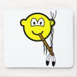 Peacepipe buddy icon   mousepad