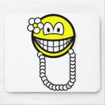 Hawaiian smile   mousepad