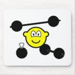 Strongman buddy icon   mousepad