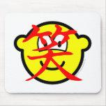 Chinese character buddy icon   mousepad