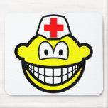 Male nurse smile   mousepad