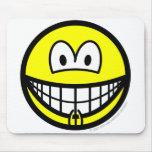 Vagina smile   mousepad