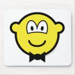 Bow tie buddy icon   mousepad