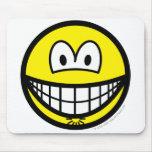 Asshole smile   mousepad