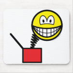 Jack in the box smile   mousepad