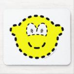 Dashed buddy icon   mousepad