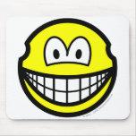Earless smile   mousepad
