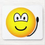 Alarm bell emoticon   mousepad