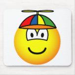 Boy emoticon   mousepad