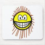 Porcupine smile   mousepad