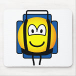 Backpacker emoticon   mousepad