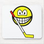 Ice hockey smile   mousepad
