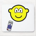 Tv remote buddy icon   mousepad