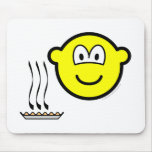 Pie baked buddy icon   mousepad