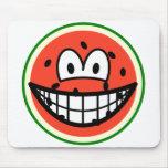Watermelon smile   mousepad