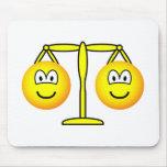 Libra emoticon Zodiac sign  mousepad