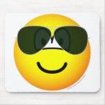 Aviators emoticon Sunglasses   mousepad