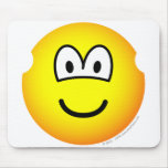 Earless emoticon   mousepad