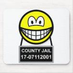 Mugshot smile   mousepad