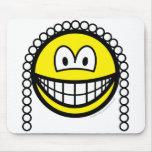 Judge smile   mousepad