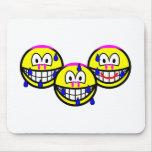 Synchronized swimming smile Olympic sport Aquatics mousepad