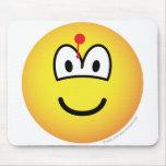 Hit emoticon   mousepad