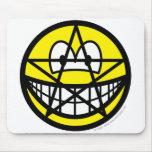 Pentacle smile   mousepad
