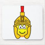 Roman soldier emoticon   mousepad