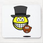 Groundhog day smile shadow  mousepad