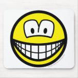 Telly/computer overdose smile   mousepad