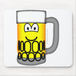 Beer pull emoticon   mousepad