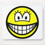 She smile   mousepad