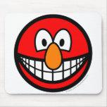 Elmo smile   mousepad