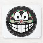 Dartboard smile   mousepad