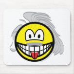 Einstein smile   mousepad